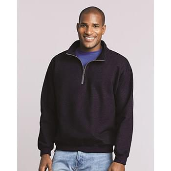 Heavy Blend Quarter-Zip Cadet Collar Sweatshirt