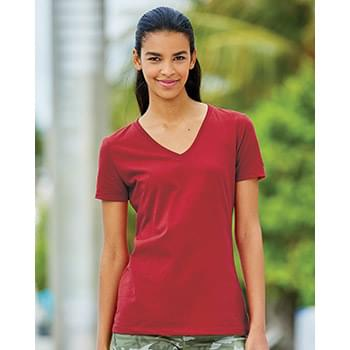 HD Cotton Women's V-Neck T-Shirt