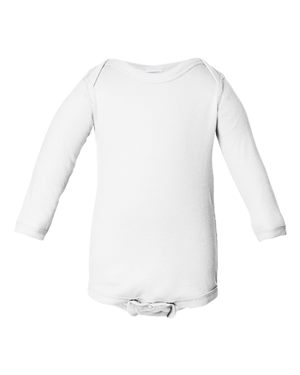 Infant Long Sleeve Baby Rib Bodysuit