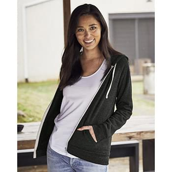 Eco-Fleece Women's Adrian Hooded Full-Zip Sweatshirt