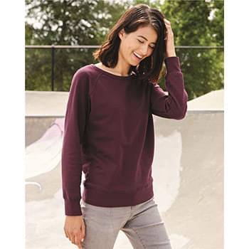 Junior's Lightweight Crewneck Sweatshirt