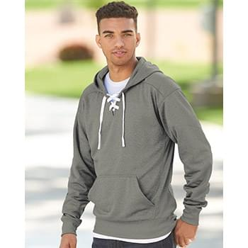 Sport Lace Polyester Fleece Hooded Pullover