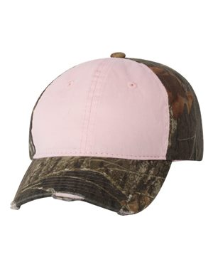 Frayed Women's Camouflage Cap