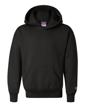 Double Dry Eco Youth Hooded Sweatshirt