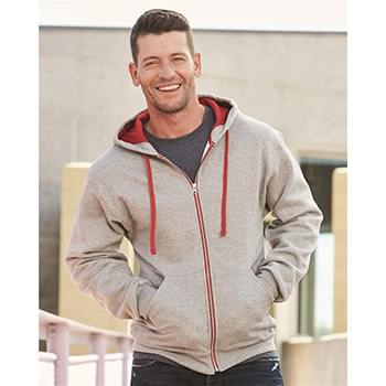 NuBlend Colorblocked Full-Zip Hooded Sweatshirt