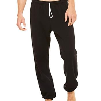 Unisex Long Scrunch Fleece Pant