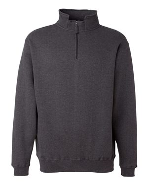 Heavyweight Quarter-Zip Fleece Sweatshirt