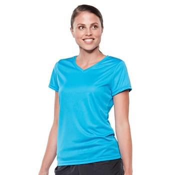 Women's V-Neck Wicking T-Shirt