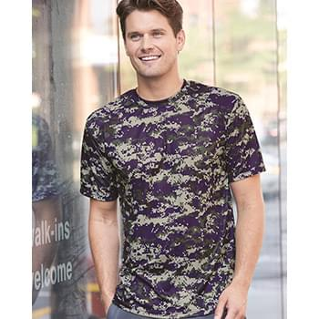 Digital Camo Short Sleeve T-Shirt