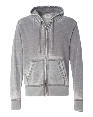 Vintage Zen Fleece Full-Zip Hooded Sweatshirt