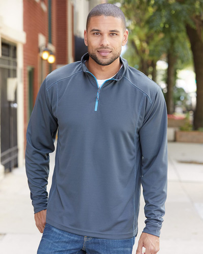 Shadow Mesh 1/4 Zip Pullover