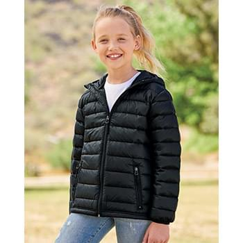 32 Degrees Youth Packable Hooded Down Jacket