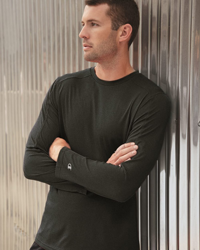 Vapor Performance Heather Long Sleeve T-Shirt