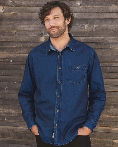 Vintage Denim Long Sleeve Shirt