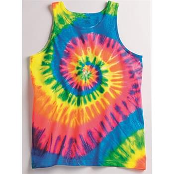 Multi-Color Spiral Unisex Tank Top