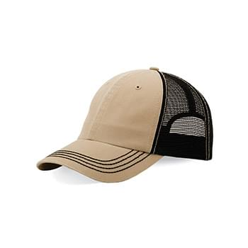 Washed Twill Trucker Cap