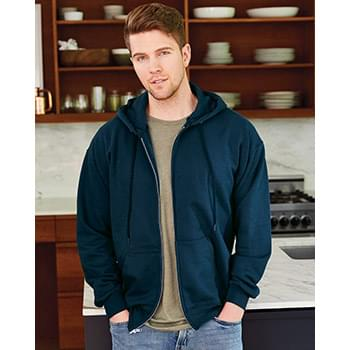 Ultimate Cotton Full-Zip Hooded Sweatshirt