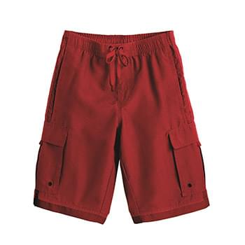Youth Striped Swim Trunks
