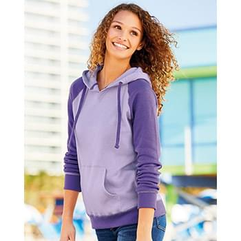 Women's Harper Raglan Hooded Pullover Sweatshirt
