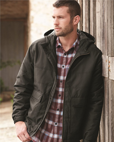 Trooper Tuff Tech™ Therma Puff Hooded Jacket