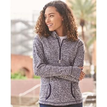 Women's Cosmic Fleece Quarter-Zip Pullover