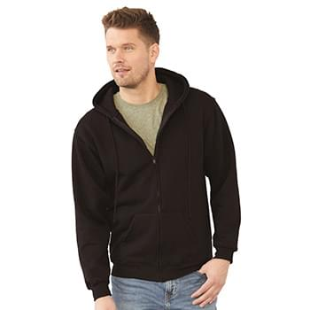 USA-Made Full-Zip Hooded Sweatshirt