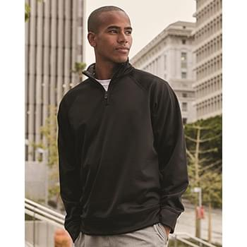Dri-Power® Sport Quarter-Zip Cadet Collar Sweatshirt