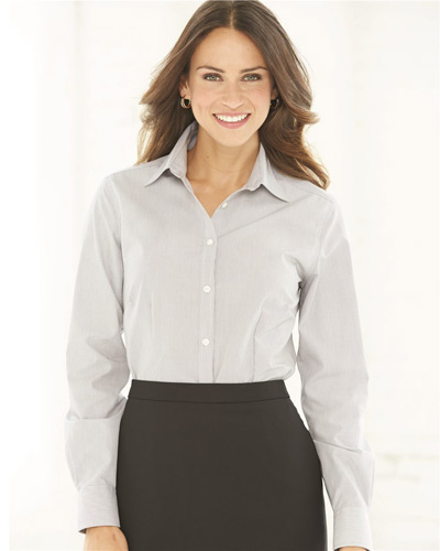 Women's Non-Iron Featherstripe Shirt