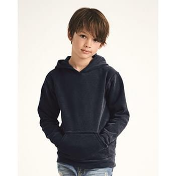 Garment-Dyed Youth Hooded Sweatshirt