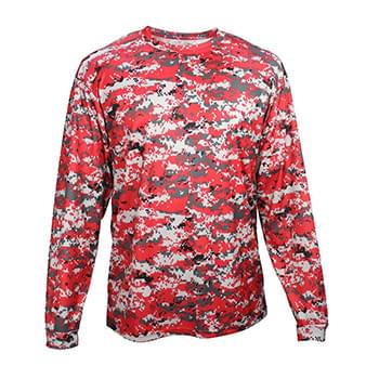 Youth Digital Camo Long Sleeve T-Shirt
