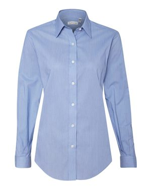 Women's Classic Pincord Spread Collar Shirt
