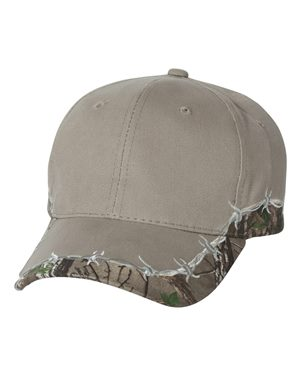Barbed Wire Camo Cap