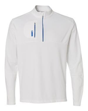 Golf Mixed Media Quarter-Zip Jacket