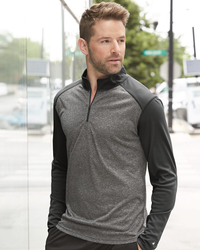Pro Heather Quarter-Zip Pullover