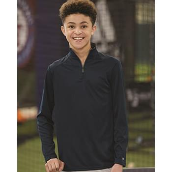 B-Core Youth Quarter-Zip Pullover