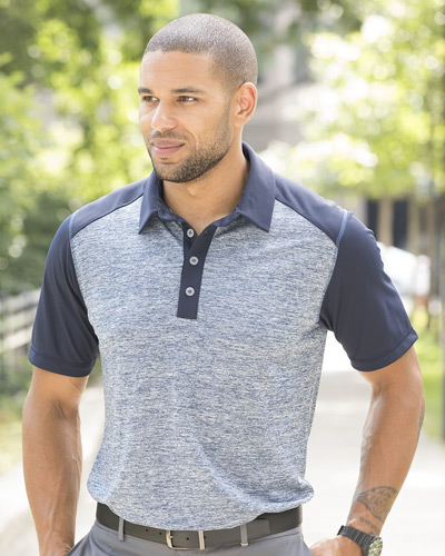 Heather Block Sport Shirt
