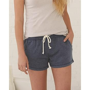 Women's Enzyme-Washed Rally Shorts