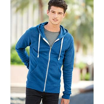 Triblend Hooded Full-Zip Sweatshirt