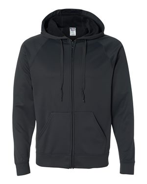 Dri-Power Sport Hooded Full-Zip Sweatshirt