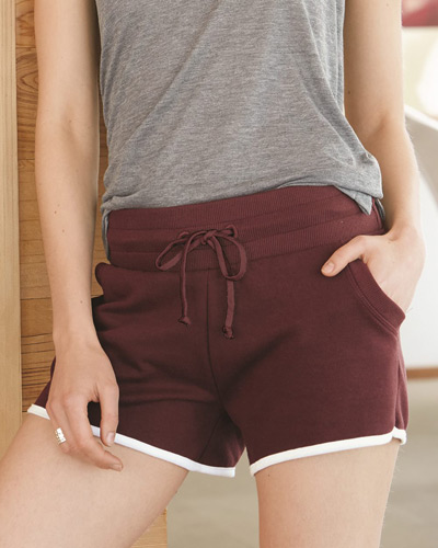 Women's Vintage French Terry Track Shorts