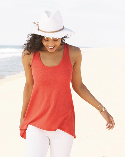 Women's Kiera Crochet Back Tank Top