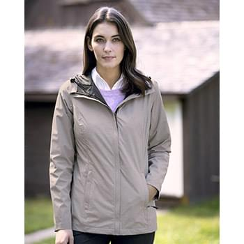 32 Degrees Women's Melange Rain Jacket