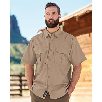 Short Sleeve Utility Ripstop Shirt