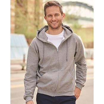 SUPER SWEATS Full-Zip Hooded Sweatshirt