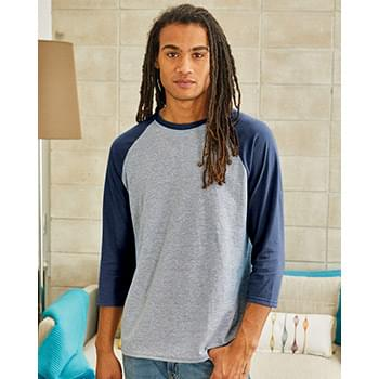 X-Temp™ Three-Quarter Sleeve Baseball T-Shirt