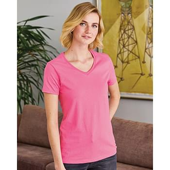 Women's Tagless V-Neck T-Shirt