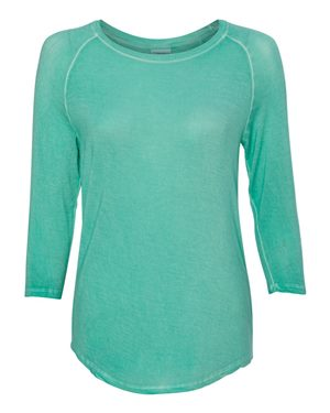 Women's Oasis Wash Three-Quarter Sleeve T-Shirt