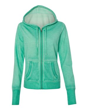 Women's Oasis Wash French Terry Hooded Full-Zip Sweatshirt