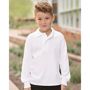 SpotShield™ Youth Long Sleeve Sport Shirt