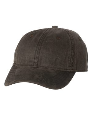 Landmark Weathered Cotton Twill Cap